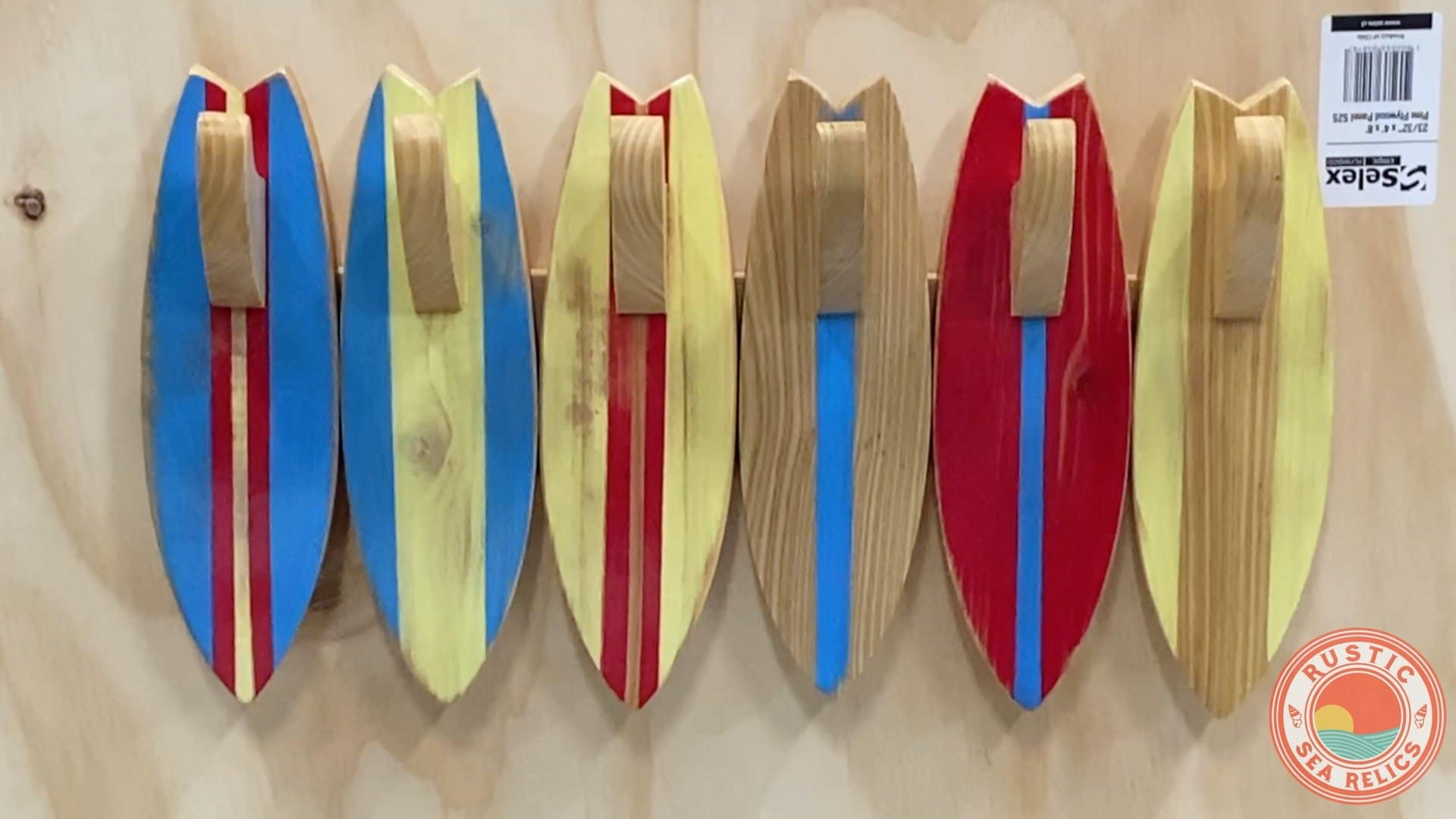 surfboard towel holder for wall