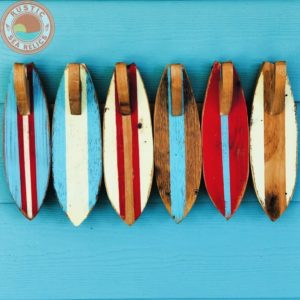 6 Surfboard Towel Rack