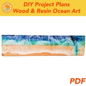 Resin Ocean Art on Wood DIY Plans