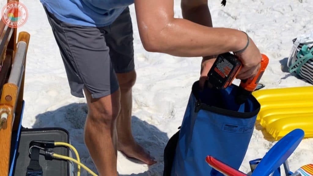 waterproof beach bag
